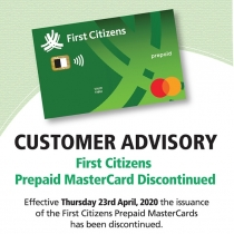 FCB Discontinues Prepaid Mastercard